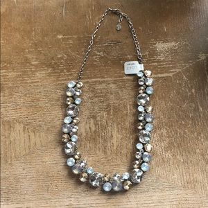 Necklace silver and Chrystal Loft ❤️